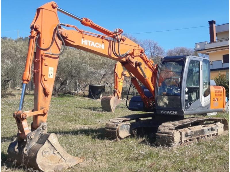 escavatore idraulico hitachi zaxis  lcn  numero di serie