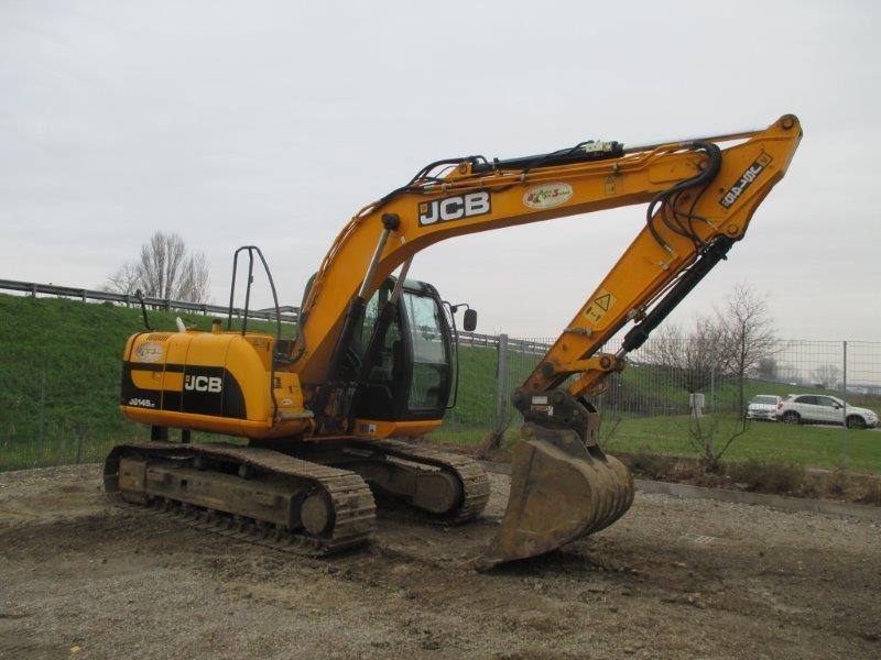escavatore idraulico jcb js  lc
