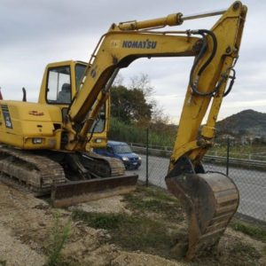 escavatore idraulico komatsu pc