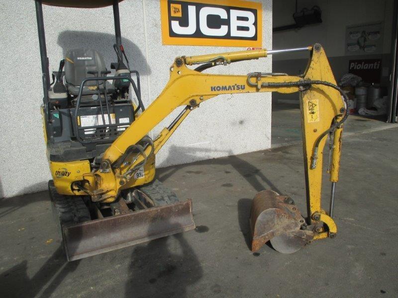 mini escavatore idraulico komatsu pc  r