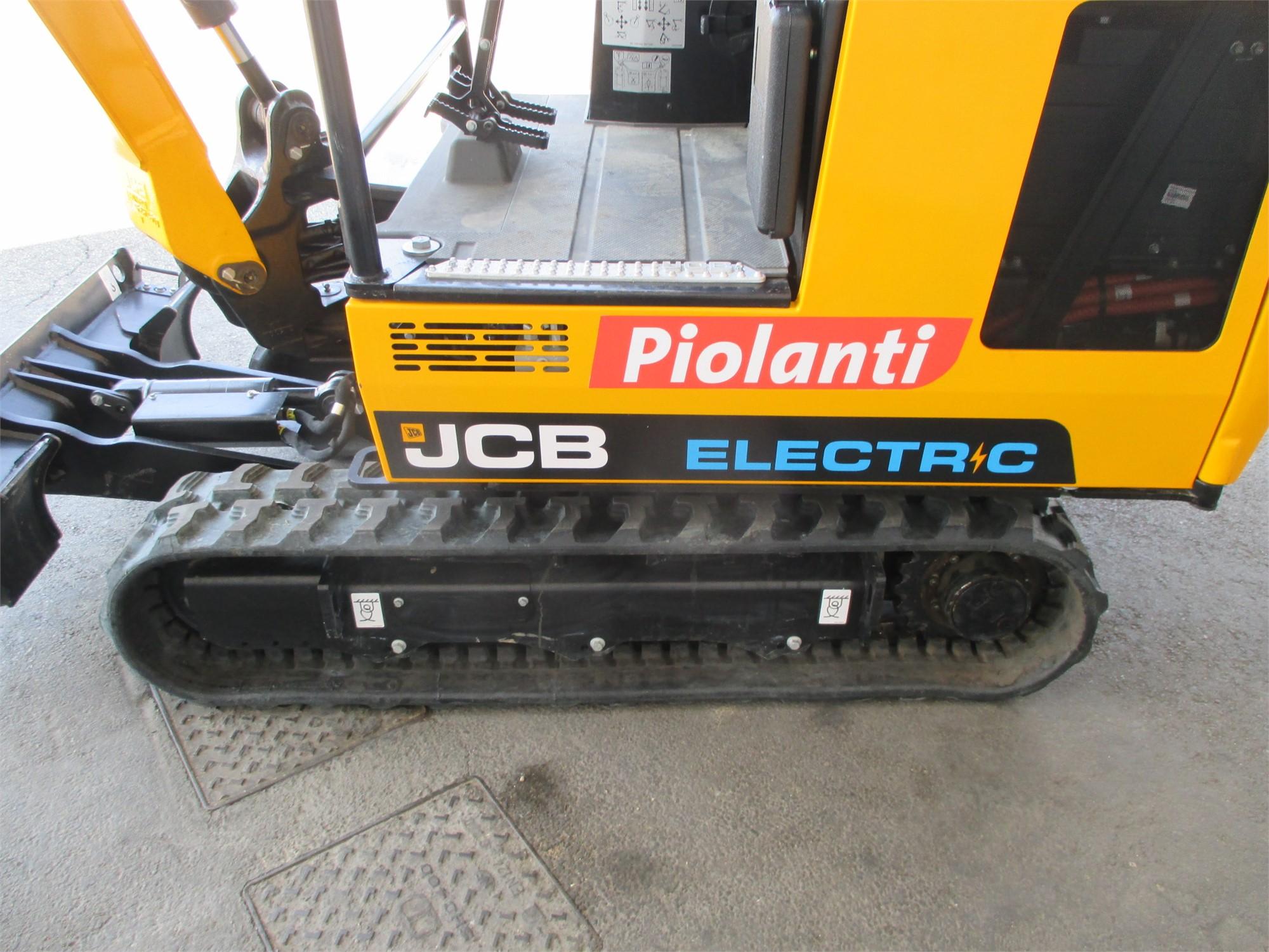 nuovo mini escavatore elettrico jcb c e n di serie k