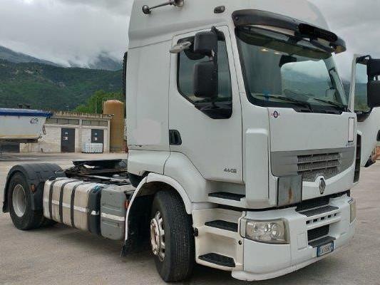 trattore stradale renault premium  cv  euro
