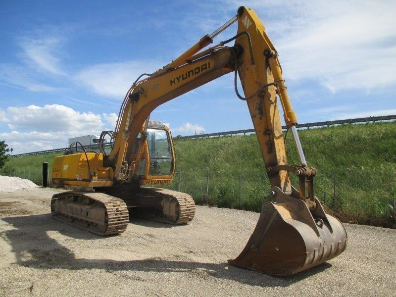 escavatore idraulico hyundai robex  nlc  ec
