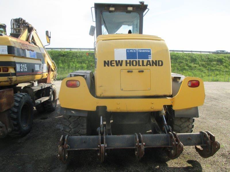 grader gommato new holland f  nbf