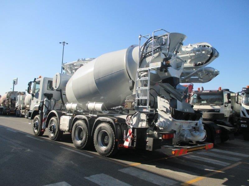 nuovo da immatricolare astra hd  allestimento betonpompa cifa magnum mk  l