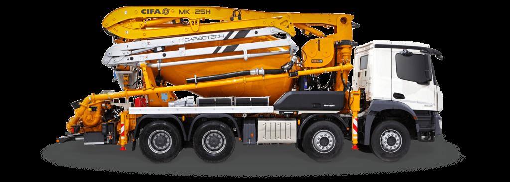 piolanti group calcestruzzo camion