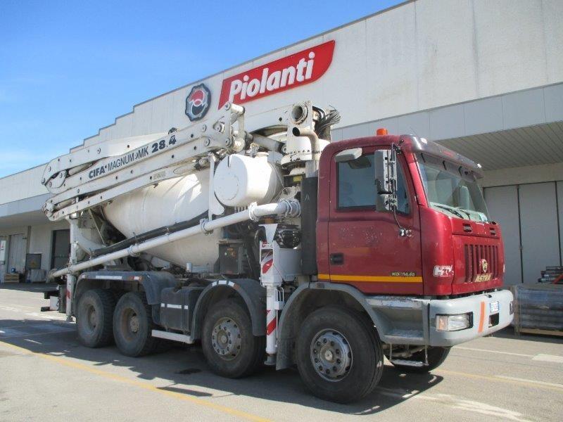 autocarro astra hd c  allestimento betonpompa cifa magnum mk