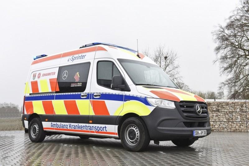 eSprinter ambulanza