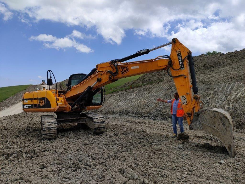 escavatore idraulico jcb  nlc