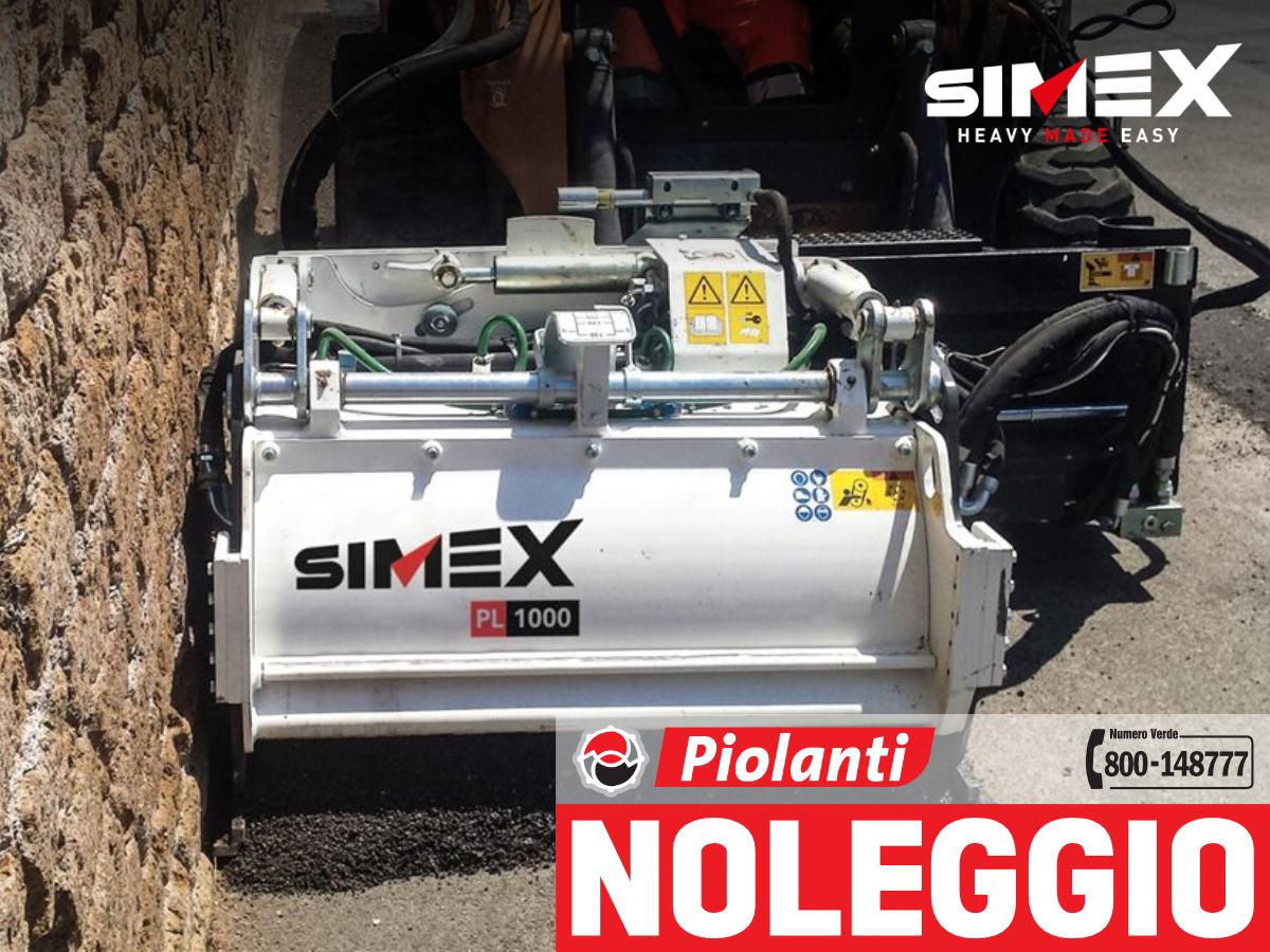 fresatrice stradale Simex PL  noleggio